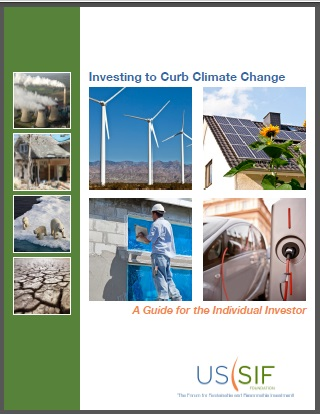 Investing to curb climate change